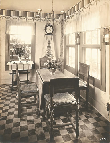 The Cottage Kitchen designed and decorated by Claggett Wilson