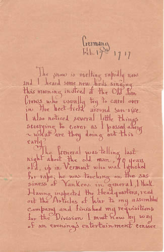 Letter to Robert Paul Gray