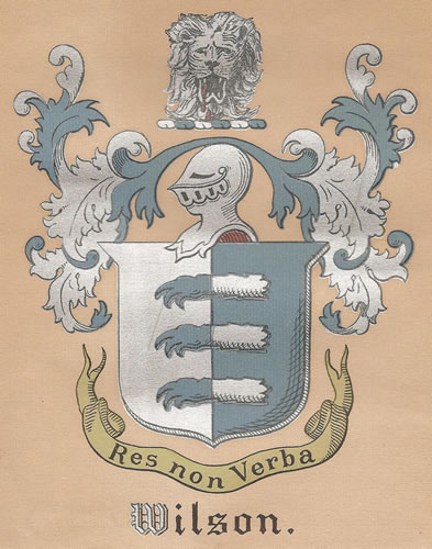 Wilson Coat of Arms