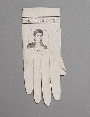 Gloves gifted to the Metropolitan Museum of Art by Claggett Wilson